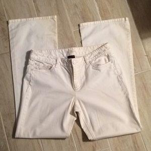 Ann Taylor white Jeans